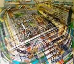"130x150 cm - TÜAB - 2013 - ""Arena"""