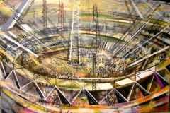 """110x150 cm - TÜAB - 2012 - """"Stadyum"""""""