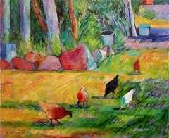 Farilya'nın Tavukları, 80x65 cm, TÜYB, 2011