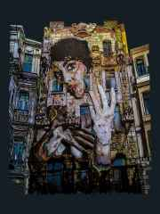 'Spirit Of Botter'<br />100x80 cm, Poli Plastik+Ahşap, 2014