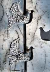 29x20 cm - Seramik (Horsehair Raku) - 2013