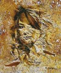 'Fosilleşmiş Bedenler' 60x50 cm, TÜKT