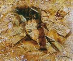 'Fosilleşmiş Bedenler' 50x60 cm, TÜKT