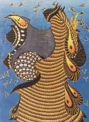 81x59.5 cm - Ağaç Baskı - 2011 - Lal Olsun Dillerin II