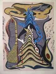 80x60 cm - Ağaç Baskı - 2010 - Lal Olsun Dillerin