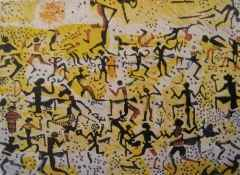 75x85 cm - Ağaç Baskı - 2002 - Çatalhöyük'ten