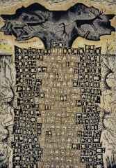 120x85 cm - Ana Kalıp - 2012 - Çatalhöyük'te Yaşam-I