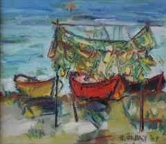 'Balıkçı Ağları'<br />35x40 cm, TÜYB, 2009