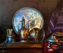 'Sini' - 126x150 cm, Tuvale Yağlı boya
