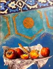 'Cem Sultan' - 95x75 cm, Tuvale Yağlı boya