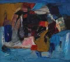 Cavit Atmaca <br/> 43x48 cm, TÜYB, 1993