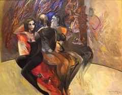 Mustafa Ayaz <br/> 140x180 cm, TÜYB, 1994