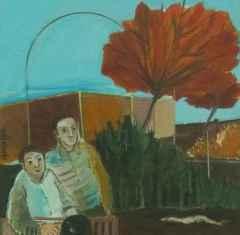 Gonca İlbeyi Demir - 20x20 cm