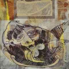 Erhan Lanpir - 20x20 cm