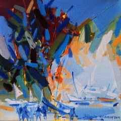 Hüseyin Yıldırım - 20x20 cm - 2014