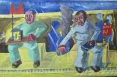 120x180 cm - TÜYB - 2009 - Duvar dibi-III