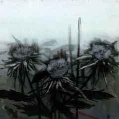 Ercan Ayçiçek - İsimsiz, 70x70 cm, Tuvale akrilik boya, 2017