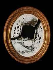'Aynalar', 50x40x4 cm, 1400° - Porselen, Ajur Tekniği, 2017