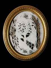 'Aynalar', 36x31x3 cm, 1400° - Porselen, Ajur Tekniği, 2017