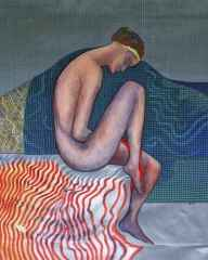Oturan Kız Etüdü - 150x120 cm, TÜAB