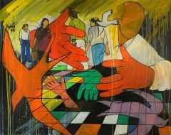 70x90 cm - TÜYB - 1997 - Kırlangıca Ağıt
