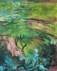 'Karşılaşma / Encounter'<br />150x120 cm, TÜYB, 2015