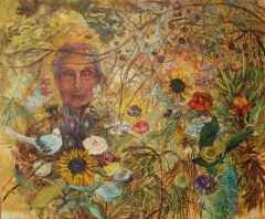 Büyük Anne-Grand Mother, 100x120 cm