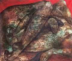 'Korku-I', 100x120 cm, TÜKT, 2012