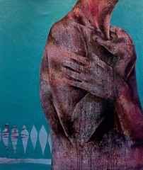 'Ruhuma Sarılmak', 120x100 cm, TÜKT, 2015