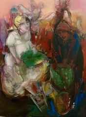 'Silik Gölge'<br />80x60 cm, TÜYB, 2014