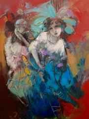 'Uykudayken'<br />80x60 cm, TÜYB, 2015