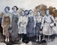 'Ağustos Çıkmazı', 73x92 cm, Tuvale Yağlıboya