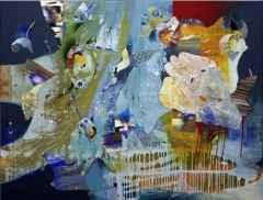 120x150 cm - TÜAB - 2008 - Balıkadamın Rüyası