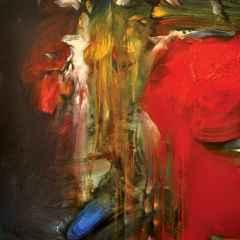 'Gizemli Nü Serisi', 100x100 cm, TÜYB, 2013
