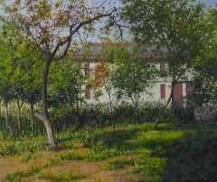 Fatih Karakaş - 50x60 cm - TÜYB - 2014 - Bahçe