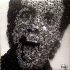 Belgin Şen – 'Jim Carrey', 25x25 cm, TÜKT, 2015