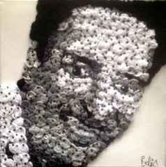 Belgin Şen – 'Kemal Sunal', 25x25 cm, TÜKT, 2015