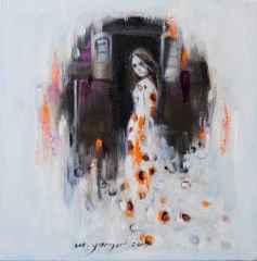 Mehmet Yangır – 'Bir Çingene Masalı', 25x25 cm, TÜYB, 2015