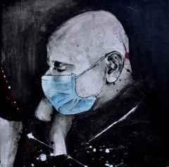 Meltem Koçak – 'Monokrom Hayatlar', 25x25 cm, TÜAB, 2015