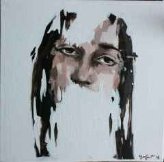 Yağmur Yörük - 'Ben Kimim', 25x25 cm, TÜYB, 2016