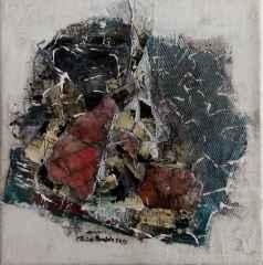 Emine Bıyıklı - 'Boşluğun Sığınakları' 25x25 cm, TÜKT, 2017