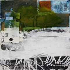 Hikmet Şahin - 'Puzzle', 25x25 cm, TÜKT, 2017