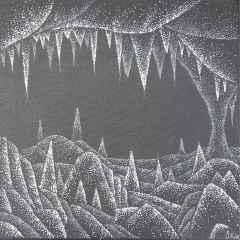 Özge Kahraman - 'Mağara', 25x25 cm, TÜAB, 2017