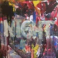 Yağmur Turan - 'Night' 25x25 cm, TÜKT, 2017