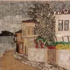 Hilmi Tanrısever - 25x25 cm, Mermer Mozaik, 2018