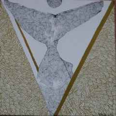Vahide Tartan - 25x25 cm, TÜAB, 2018